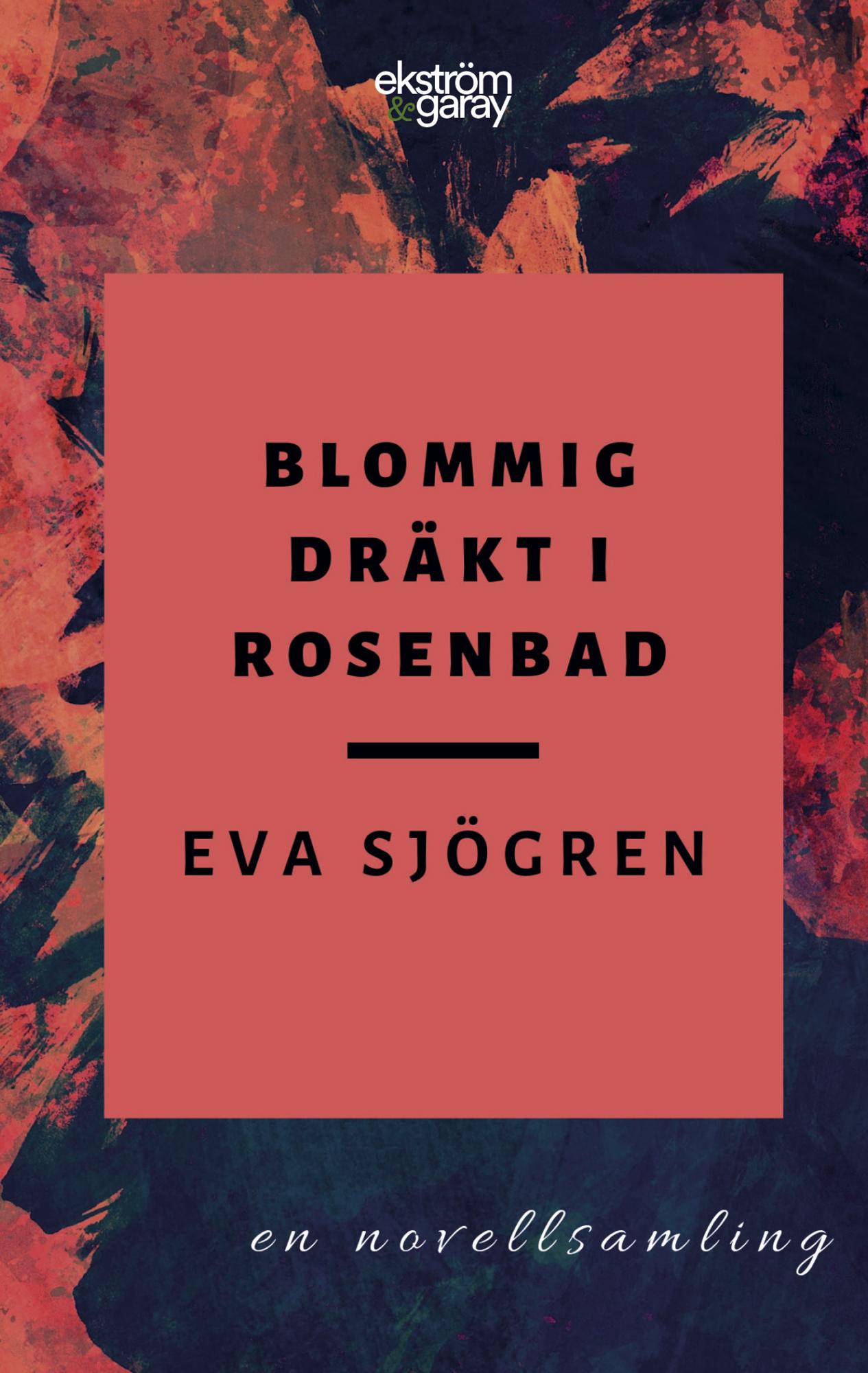 Eva Sjögren - Blommig drakt i Rosenbad